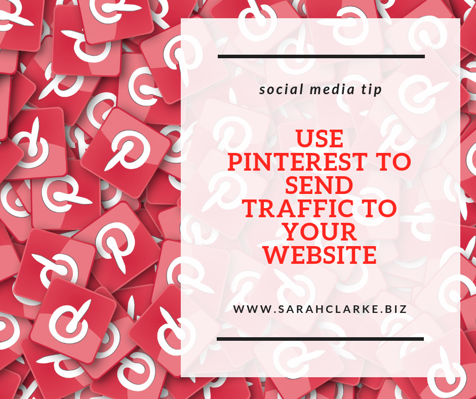 use pinterest to send traffic to your website
