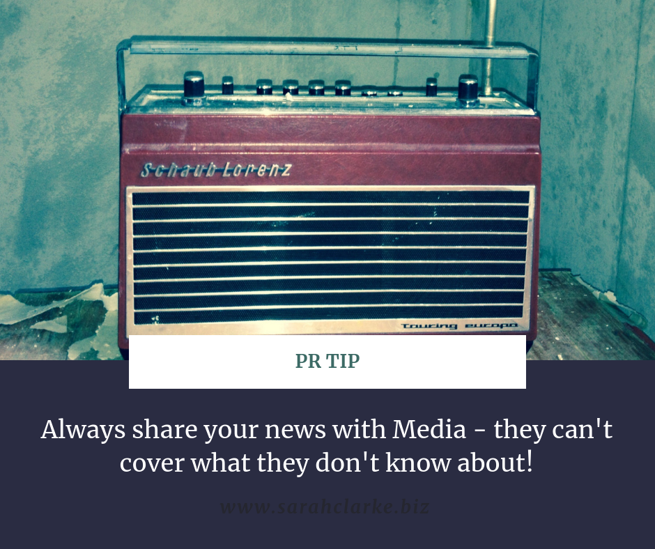 public relations tip