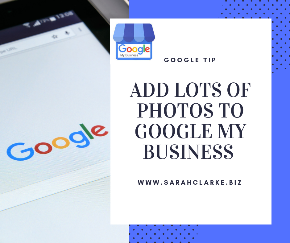 business tip of the day add lots of photos to google my business