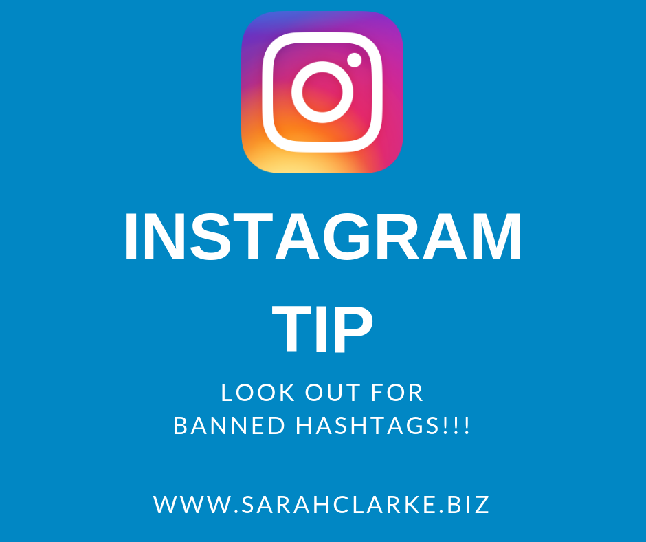 Instagram Tip Watch Out for Banned Hashtags