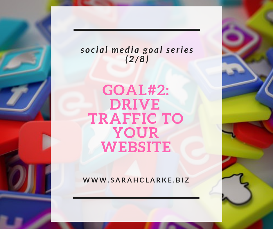 using social media for website traffic