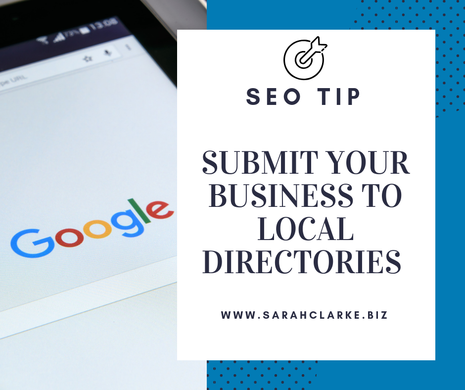 SEO Tip add your business to local online directories