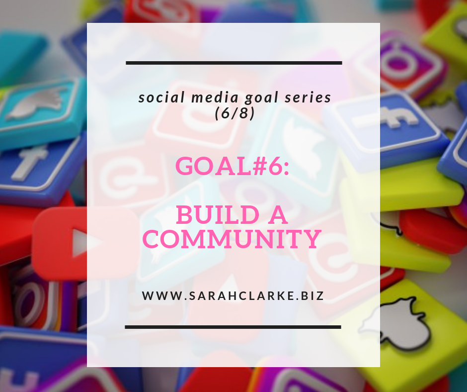 how to build a community on social media