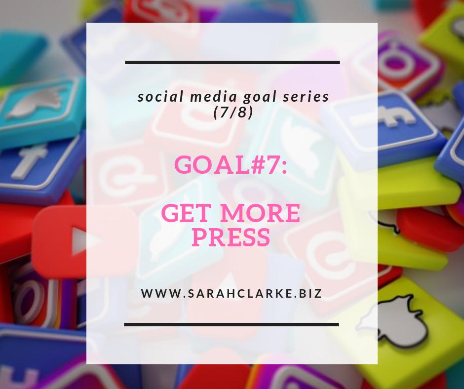 how to get more press using social media