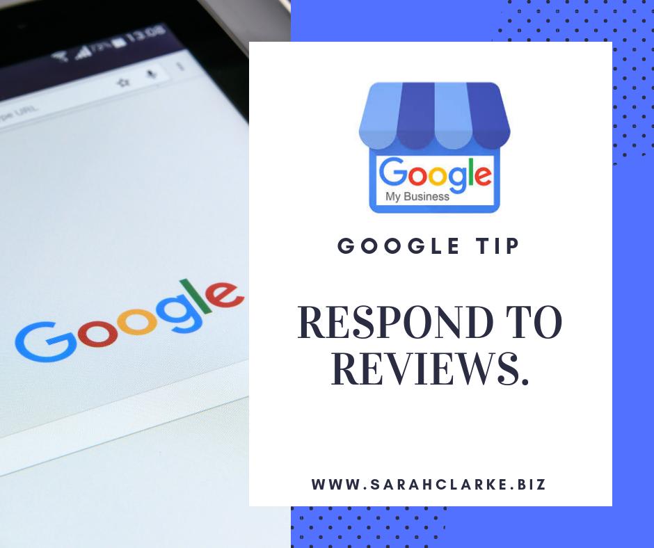 respond to all google reviews