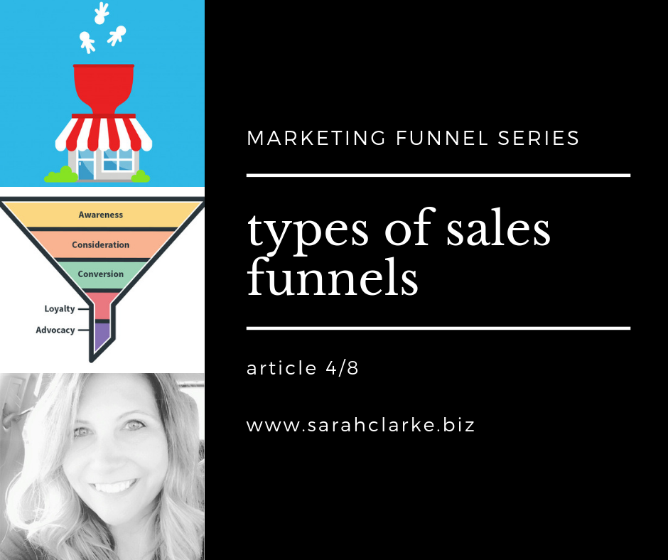 types of sales funnels