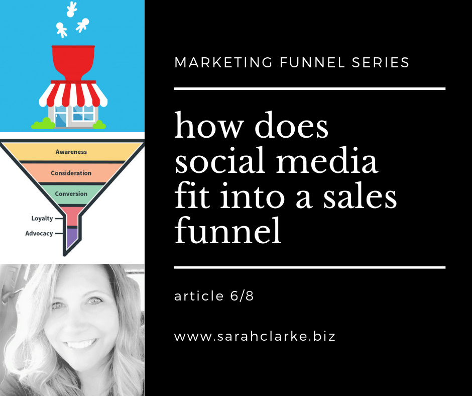 how social media fits into a sales funnel