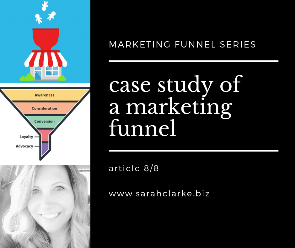 case study of a marketing funnel