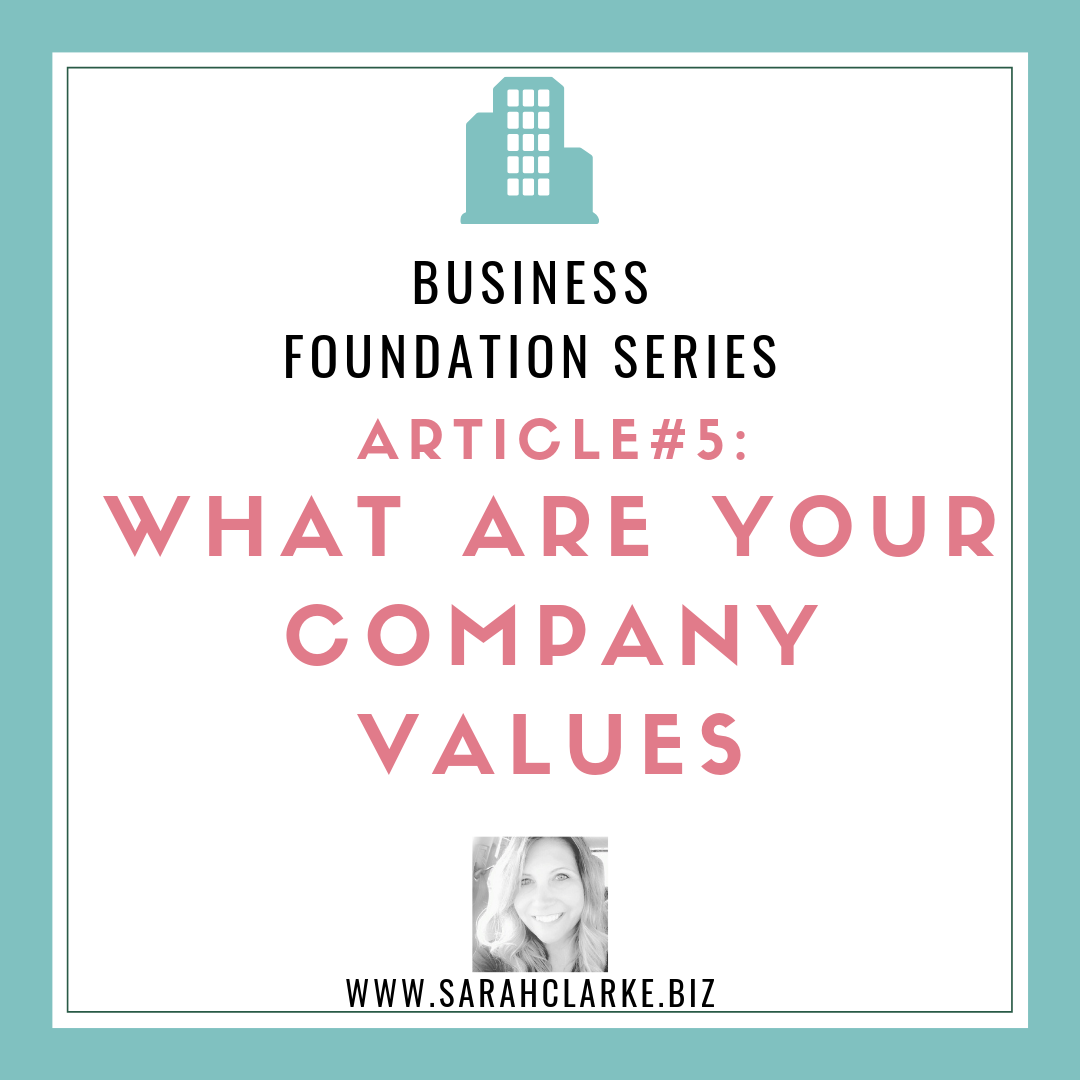 What are your company values