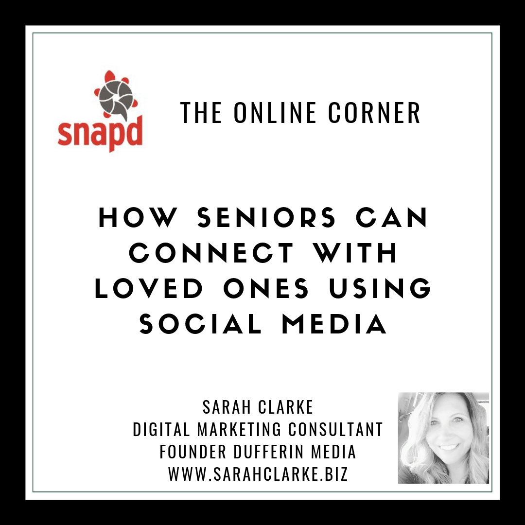How Seniors Can Connect With Loved Ones Using Social Media