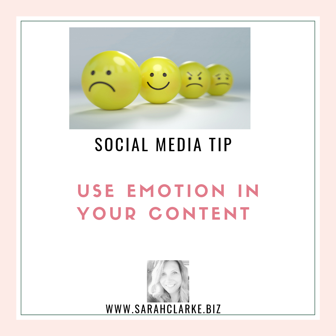 social media tip use emotion in your content