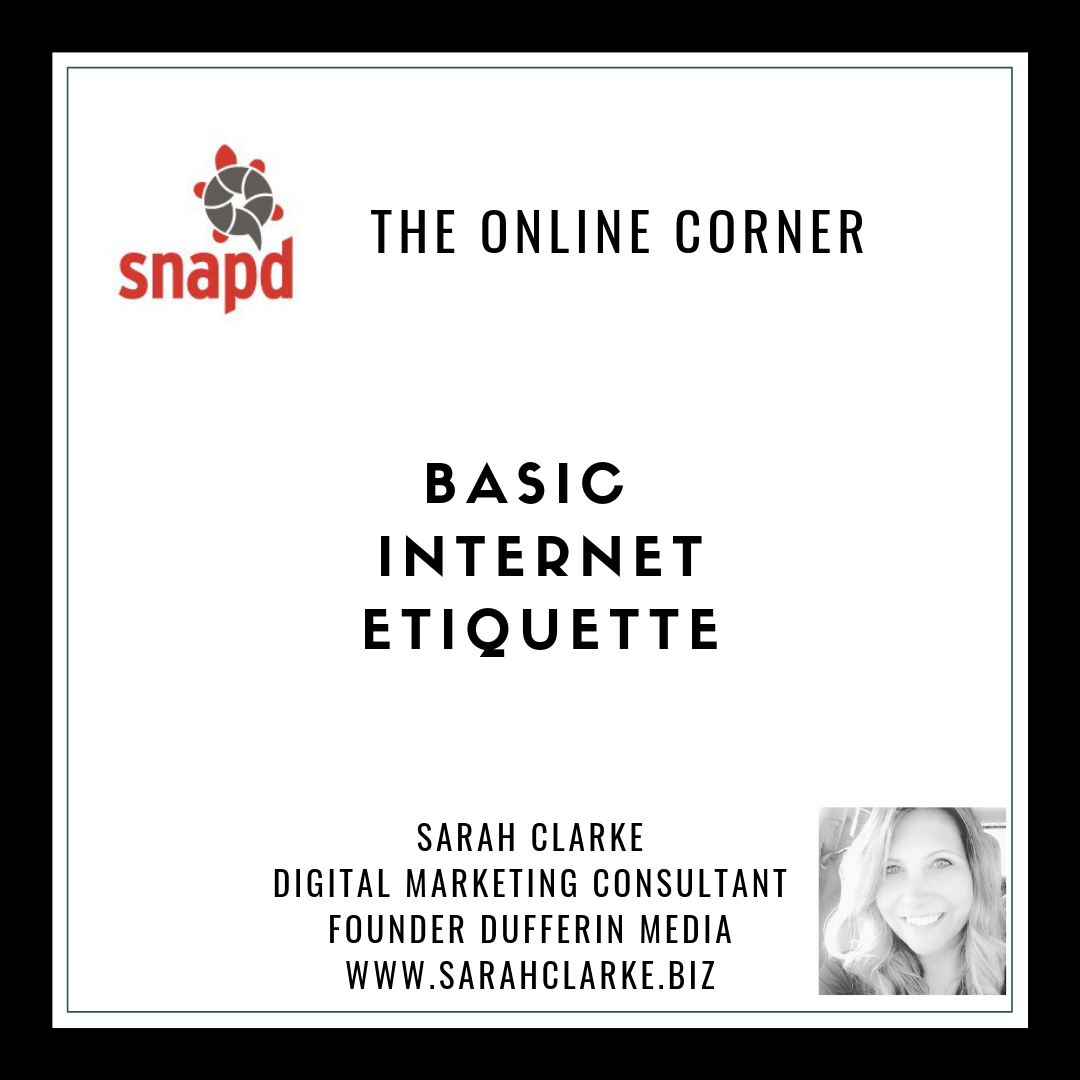 Basic Internet Etiquette