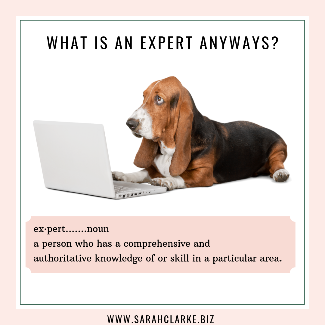 What is an expert anyways?