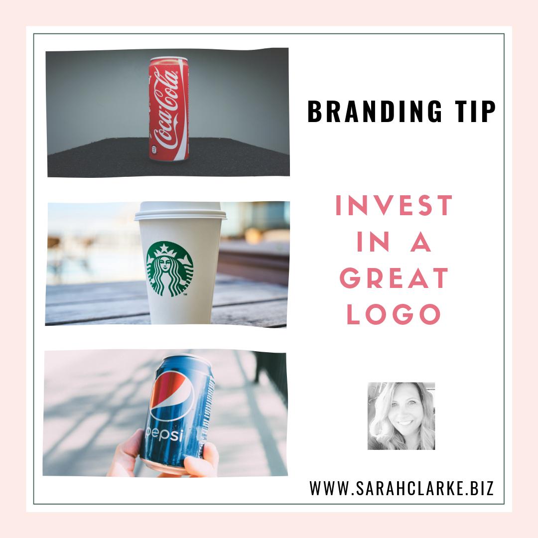 Branding Tip Invest in a Good Logo