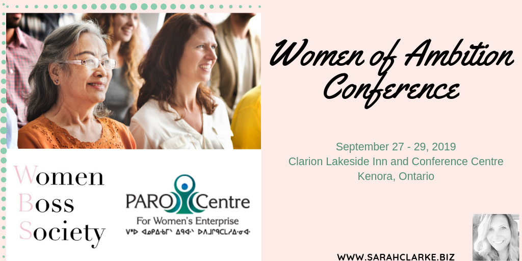 women of ambition conference kenora ontario