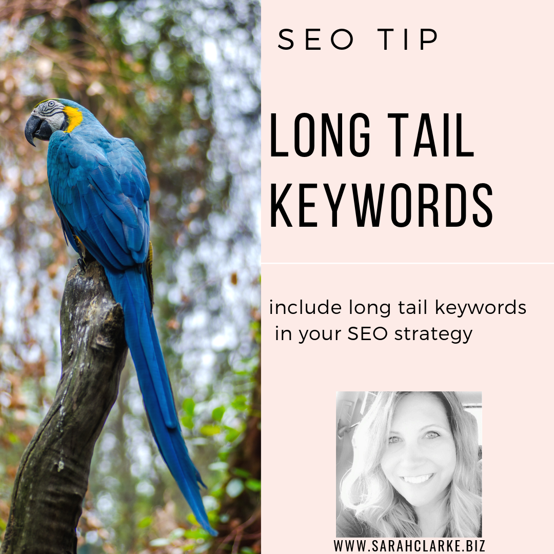 use long tail keywords in your SEO strategy