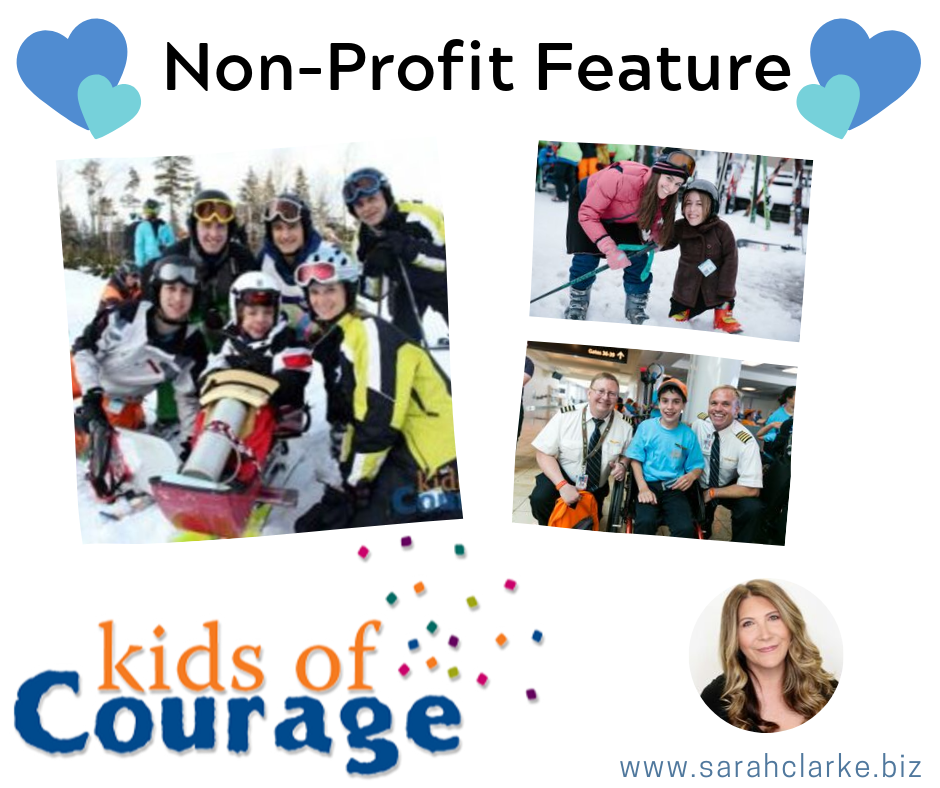 non profit feature kids of courage