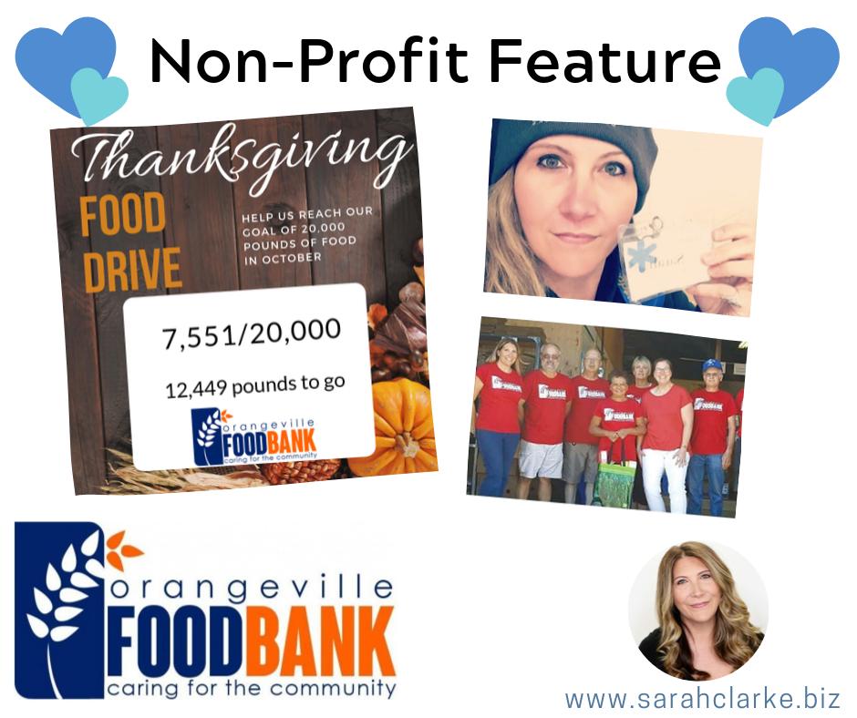 Non Profit Feature The ORangeville Food Bank