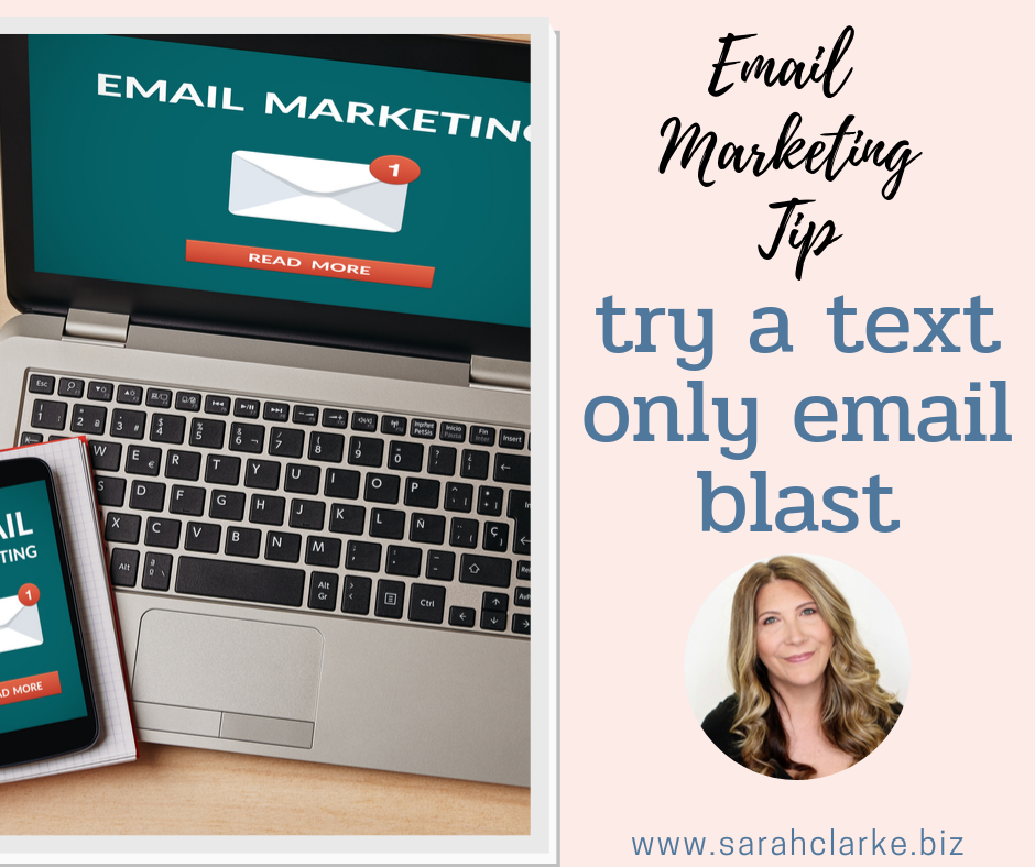 email marketing tip try sending out an email in plain text format