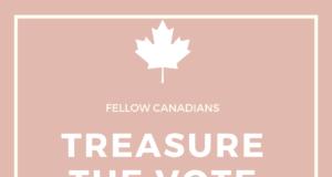 Treasure the vote