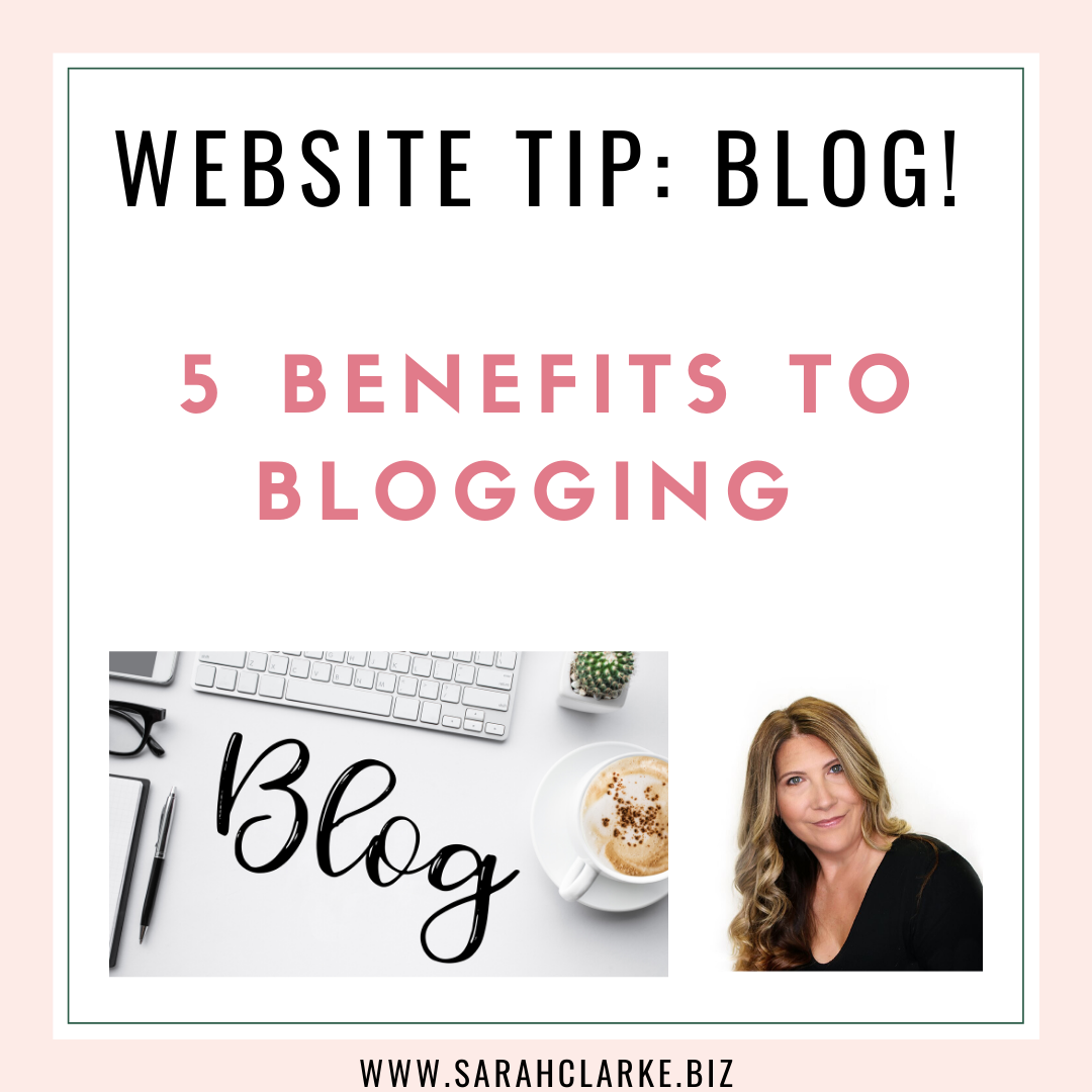 5 Benefits to Blogging