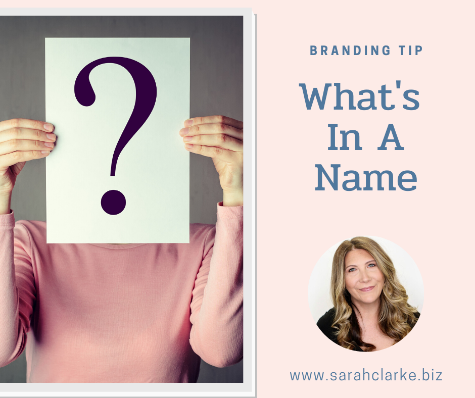 branding tip how to name your business