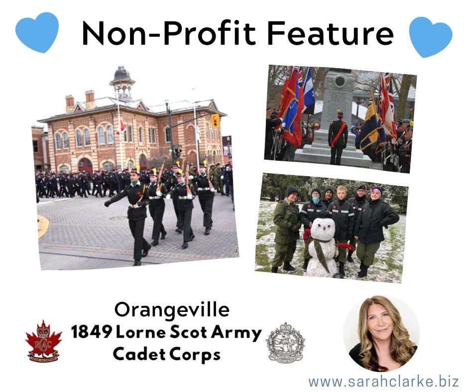 Non Profit Feature Orangeville Army Cadets - 1849 Lorne Scots