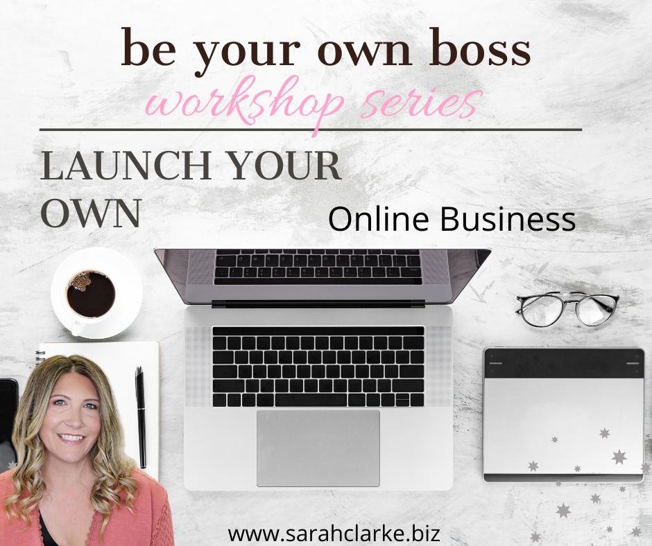 start your own online business workshop orangeville ontario
