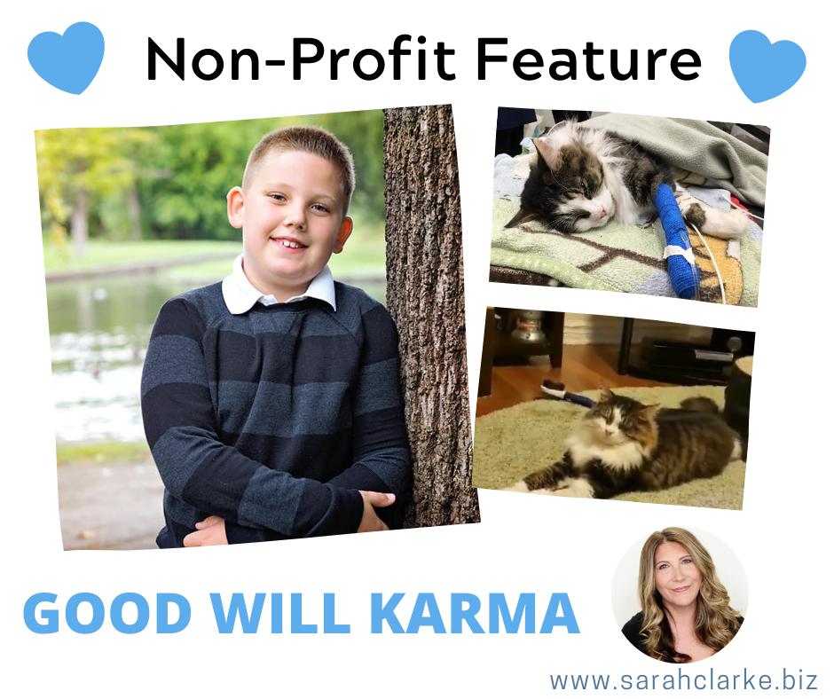 non profit feature good will karma
