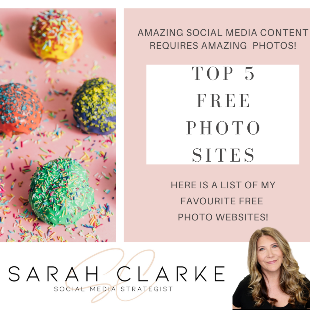 Top 5 Free Photo Sites for Social Media Content