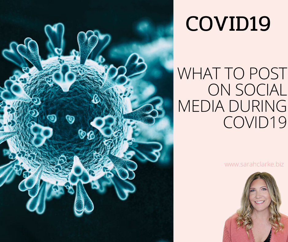 what to post on social media during covid19