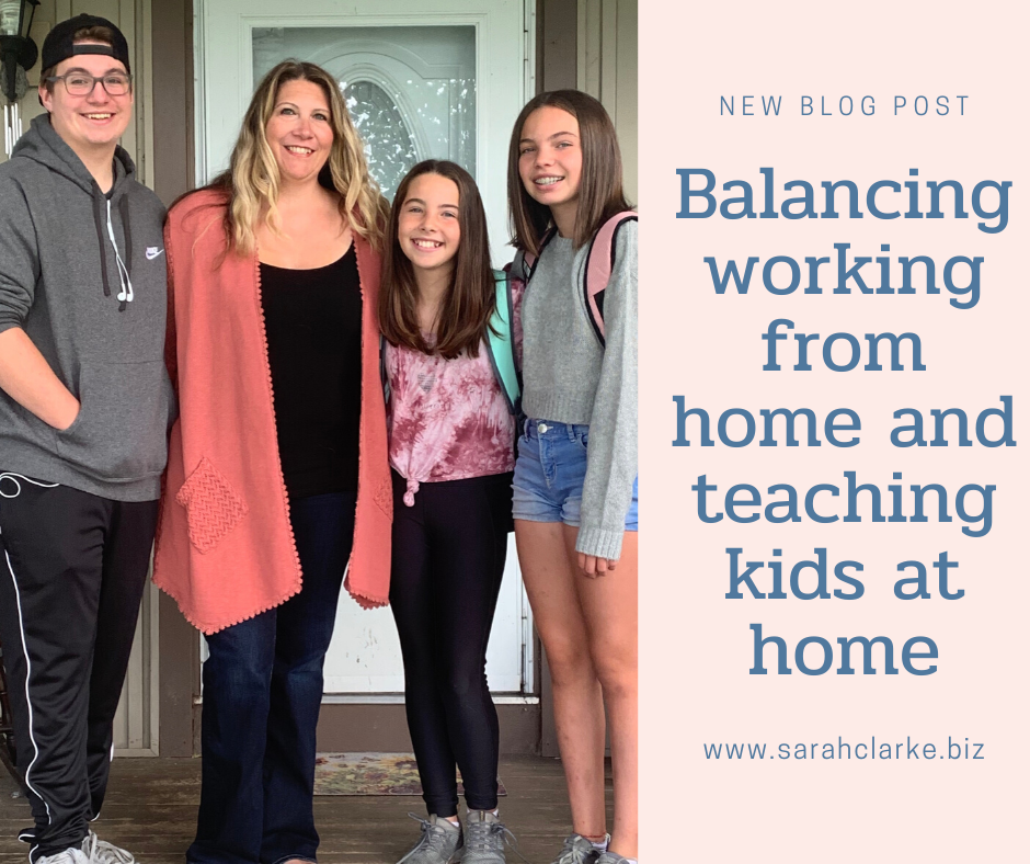 balancing working and teaching your kids from home during the pandemic