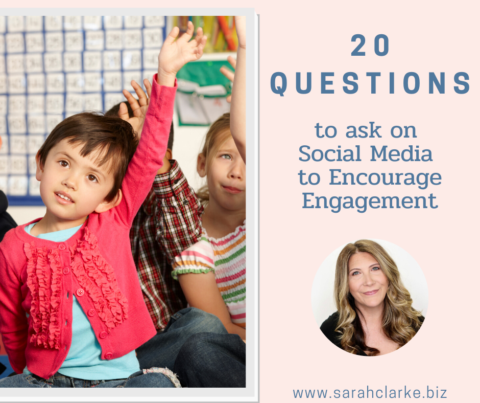 20 questions to ask on social media