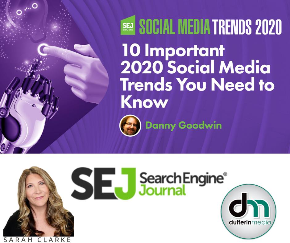 10 Important Social Media Trends for 2020