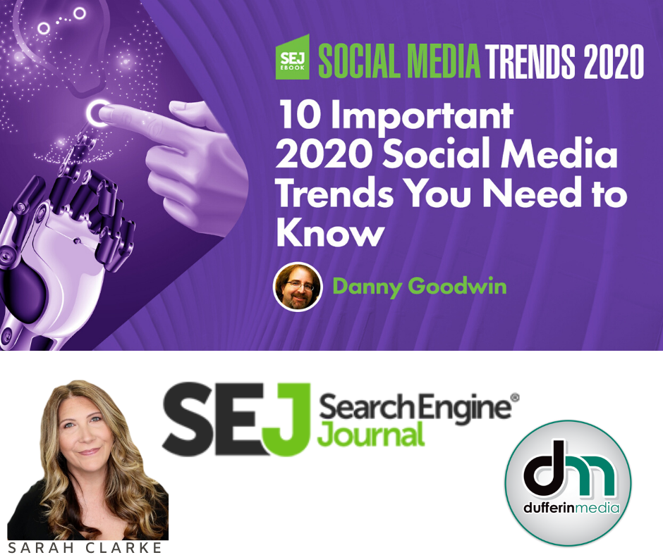 10 Important Social Media Trends for 2020