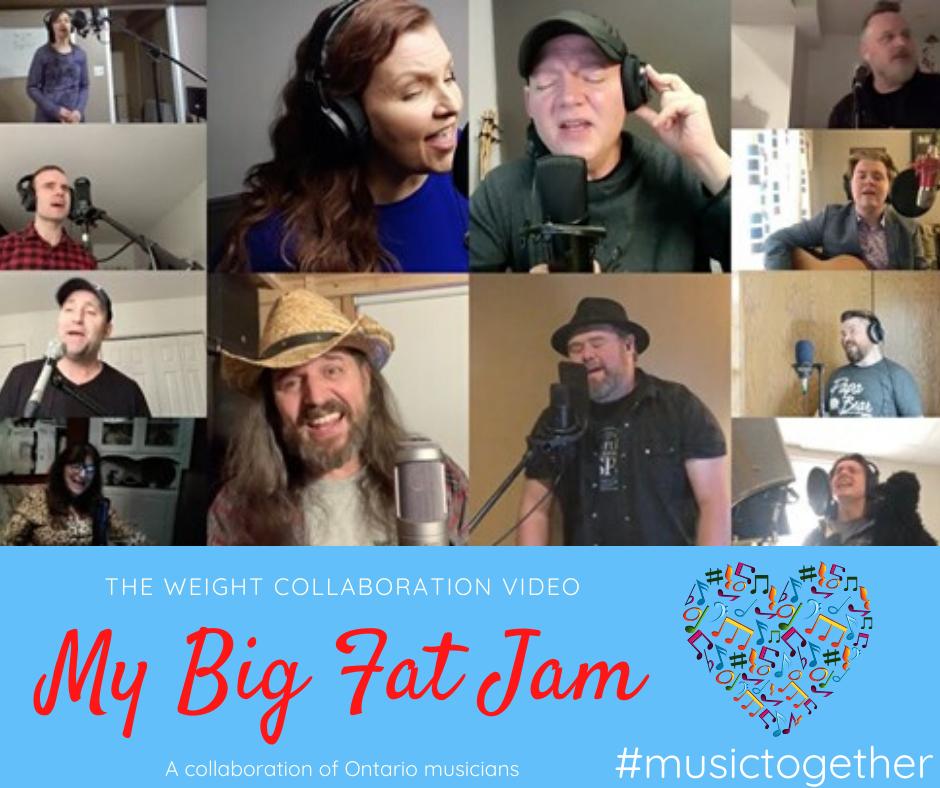 my big fat jam collaboration video