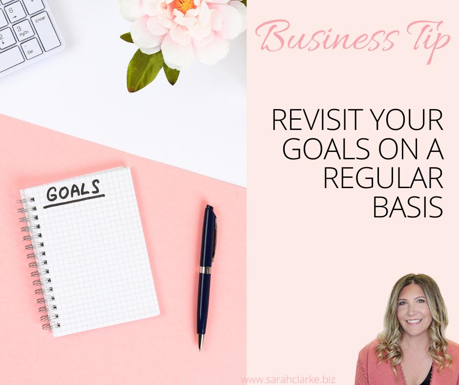 free business goals worksheet