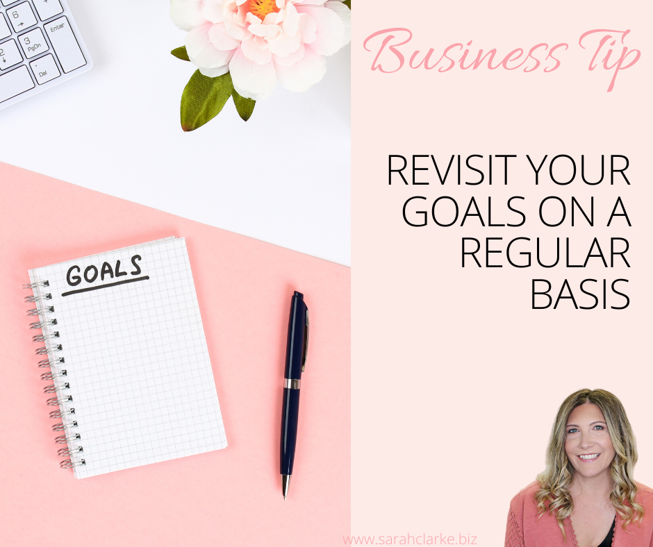 free business goals worksheet