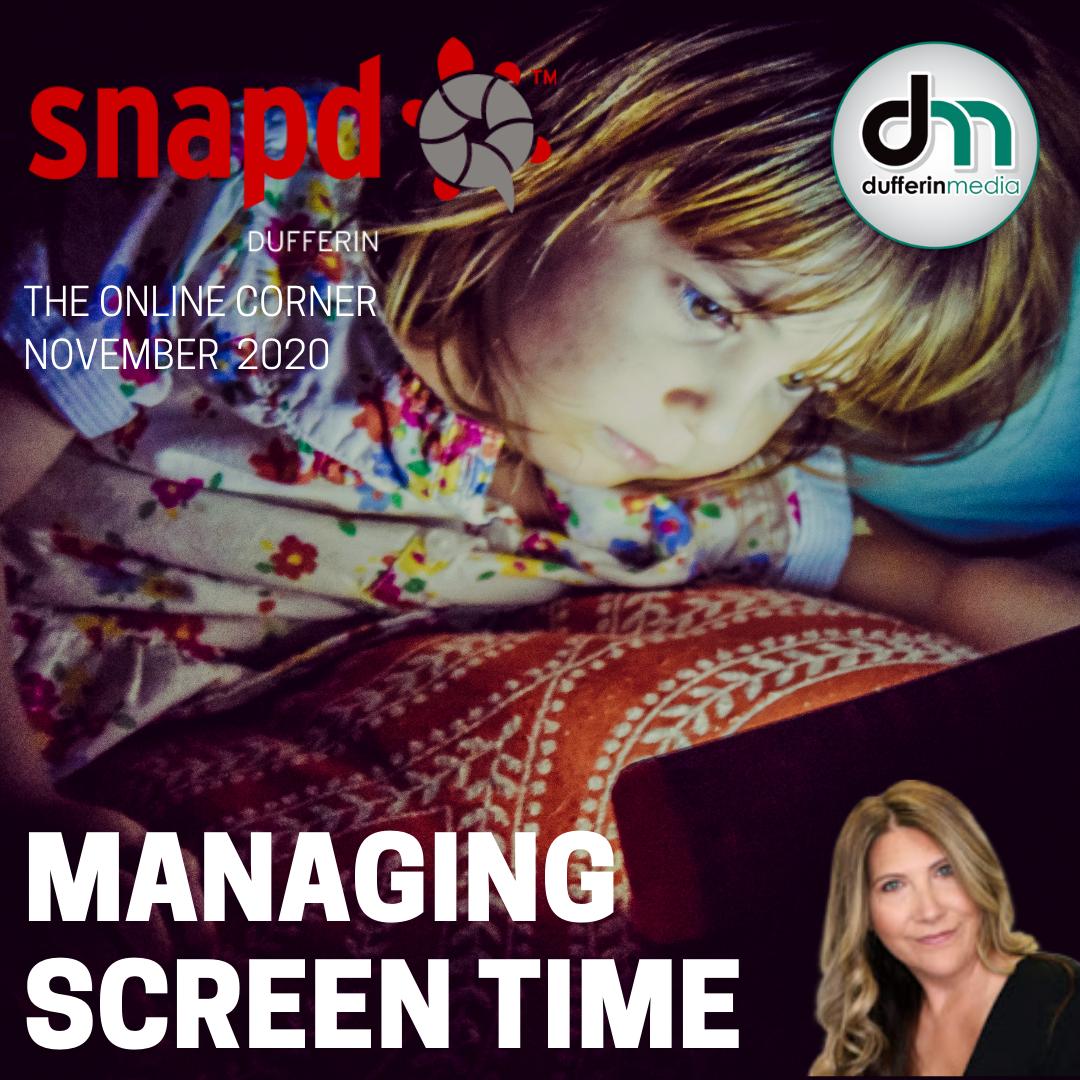 managing screen time