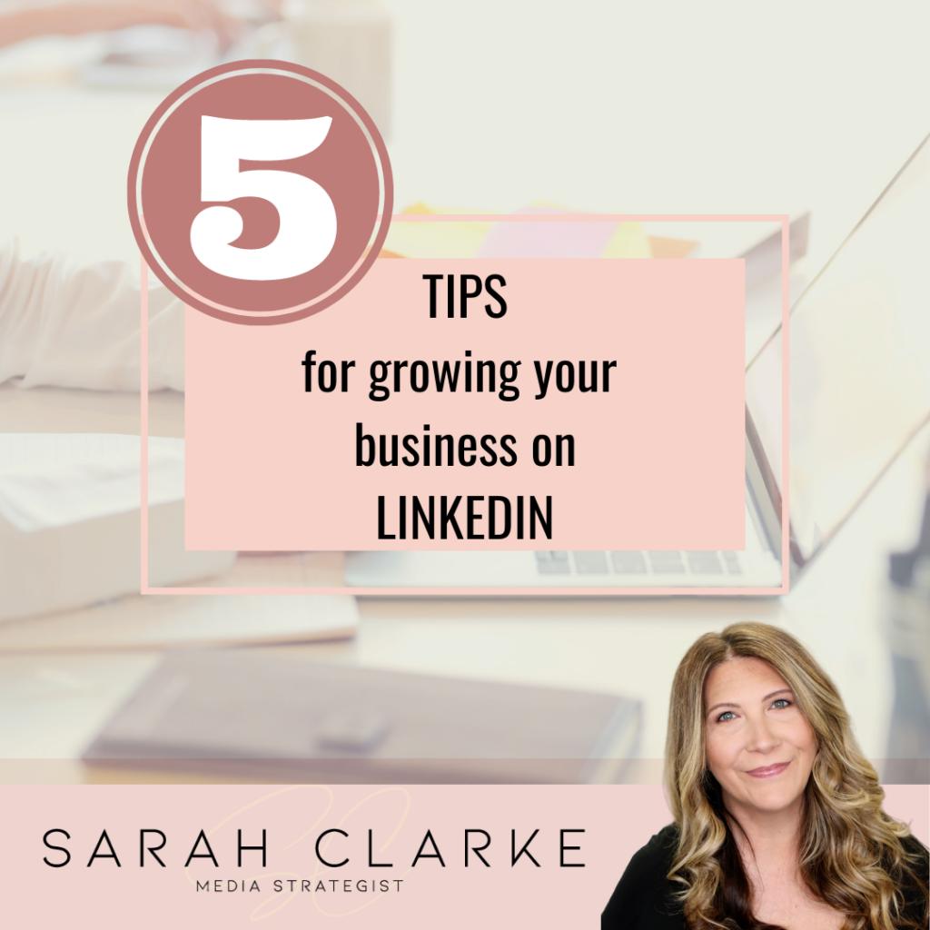five tips for linkedin