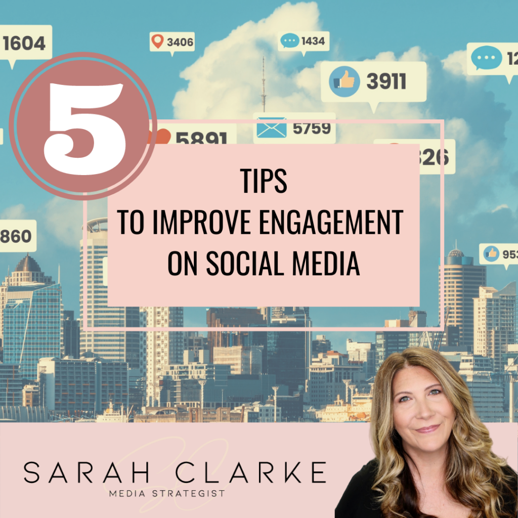 5 Tips to Improve Social Media Engagement