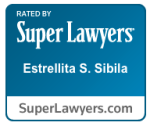 Image Rated By Super Lawyers Estrellita S. Sibila.
