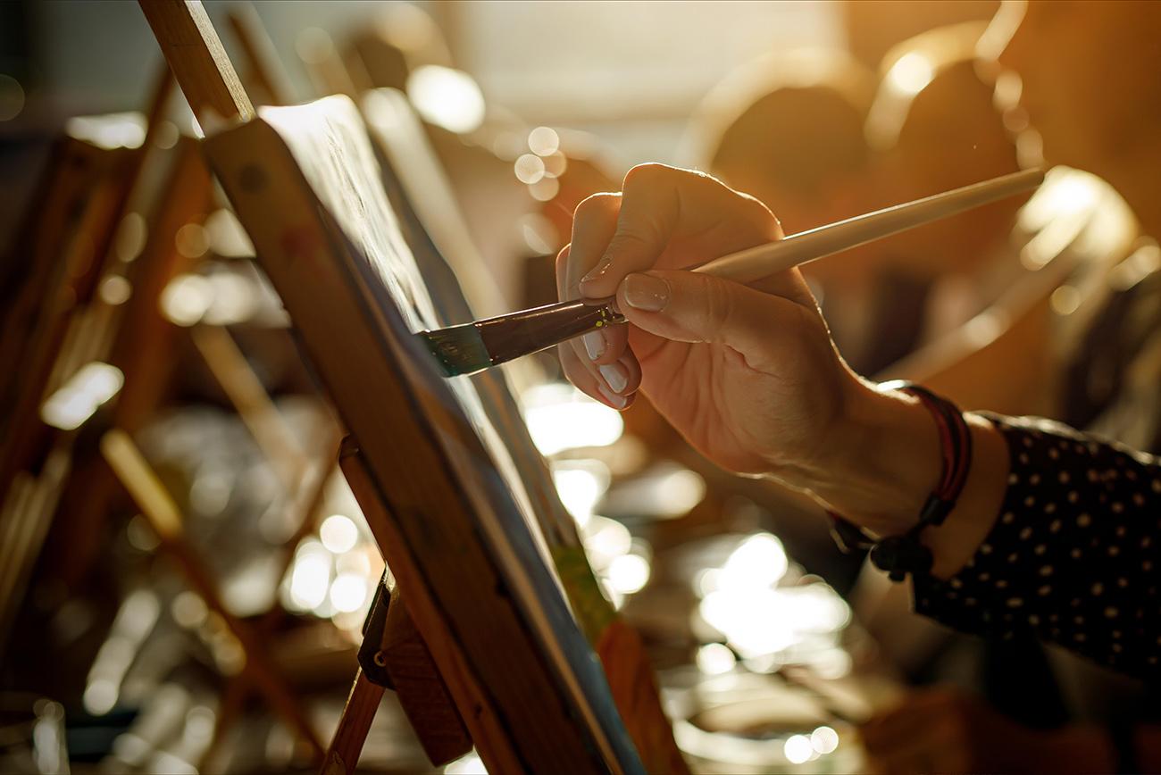 painting PHILANTHROPY