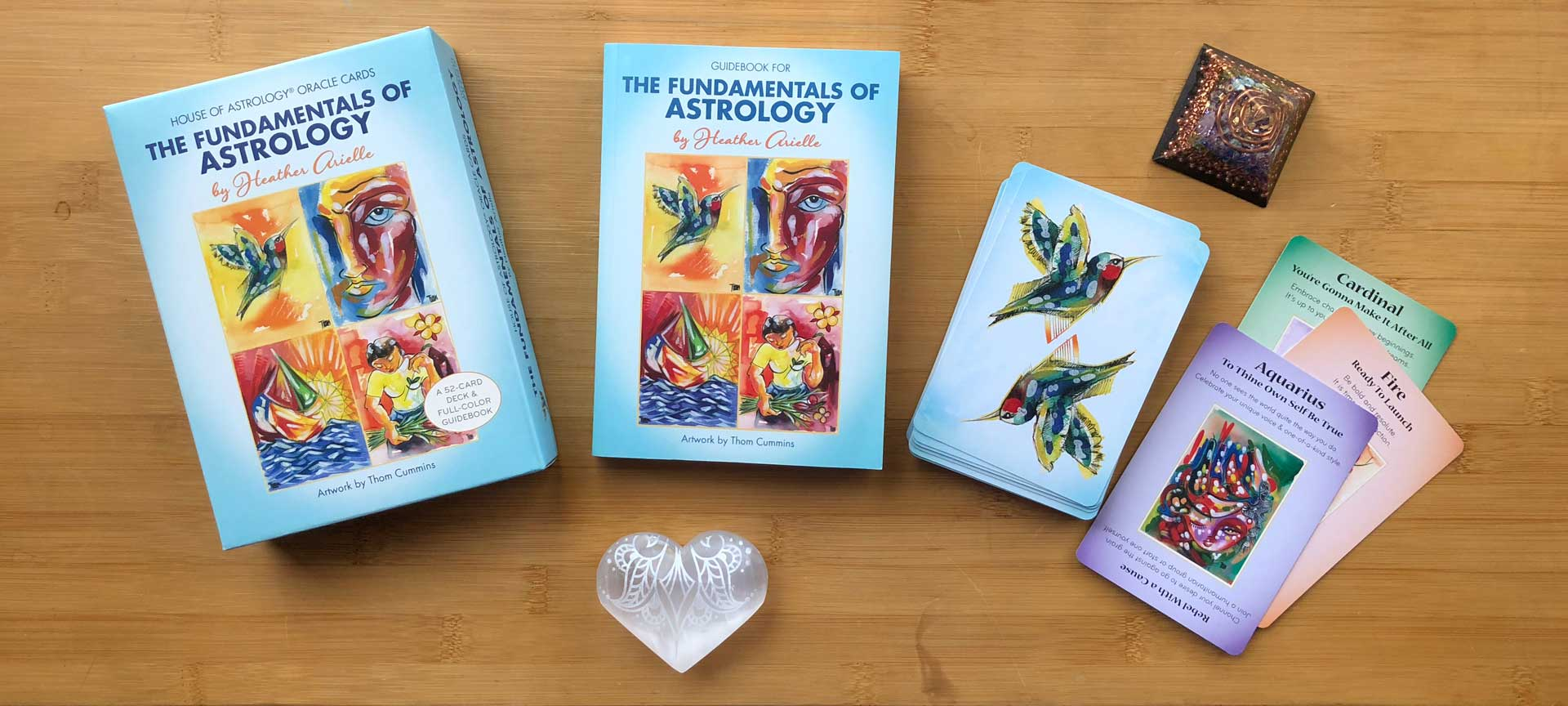 Fundamentals of Astrology Oracle Set