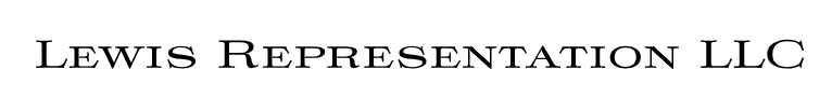 Lewis Representation Logo