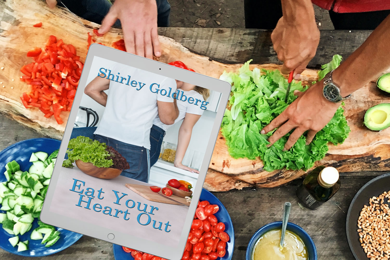 Eat Your Heart Out - Book release