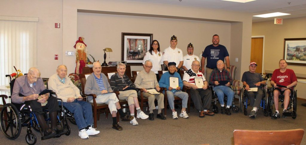 Honoring WWII and Vietnam Vets
