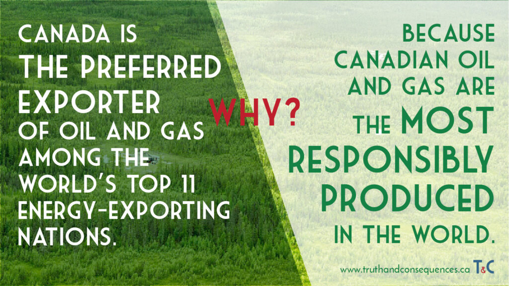 Canadian Responsible Oil Sabrina Zuniga Denis Tsarev for Truth and Consequences
