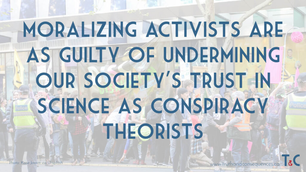 Trust in Science Truth and Consequences