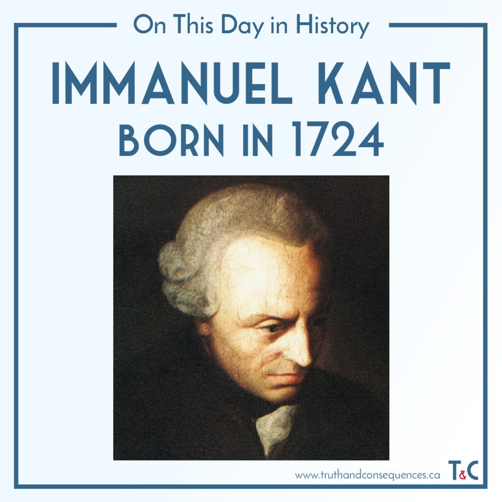 Immanuel Kant Truth and Consequences